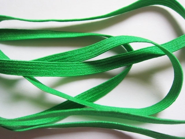 Skinny haarband elastiek Emerald Green