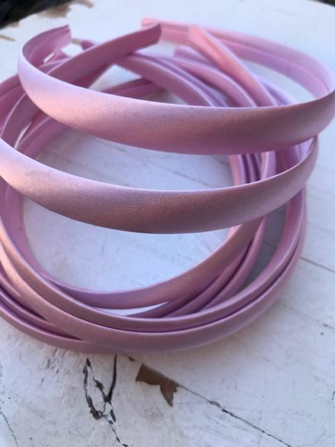 Diadeem licht roze 1.5 cm