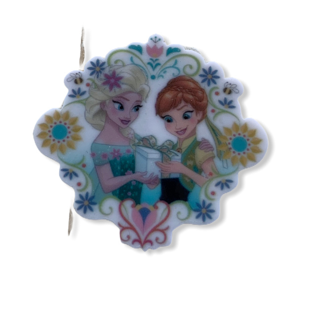 flatback Frozen elsa+anna flower
