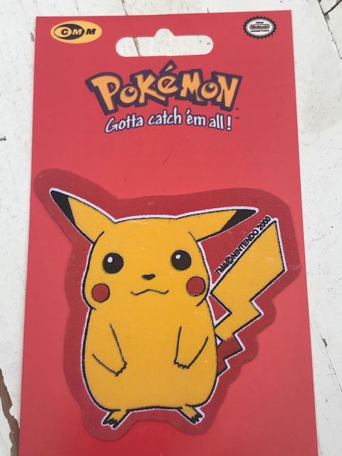 Pikachu Pokemon staan strijkapplicatie