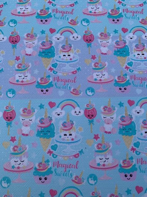 Leer Taart-ijs Magical Sweets