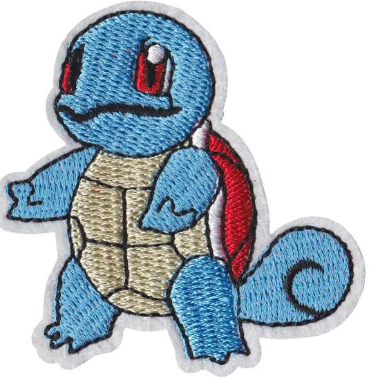 Squirtle  pokemon strijkapplicatie