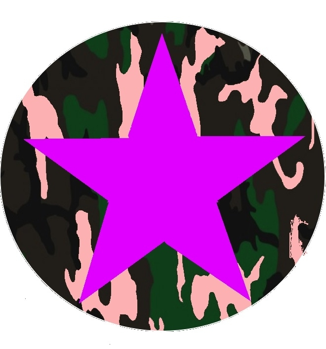 ster paars&roze camouflage