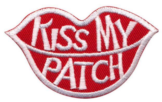 Patches kiss my opstrijkbaar