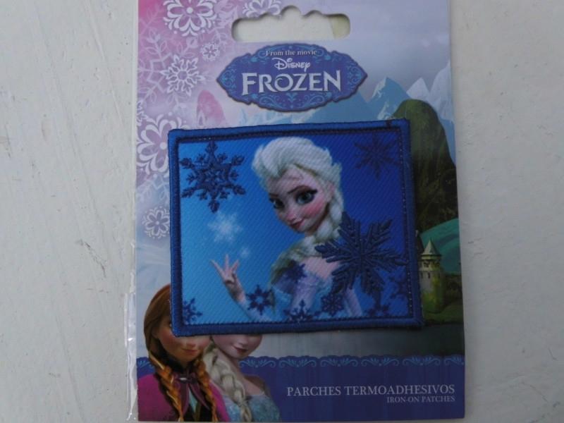 Frozen opstrijk applicatie ELSA