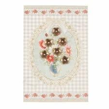Clayre & Eef parel & parelmoer bloem