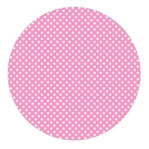 Polkadot mini stip baby roze 50cm