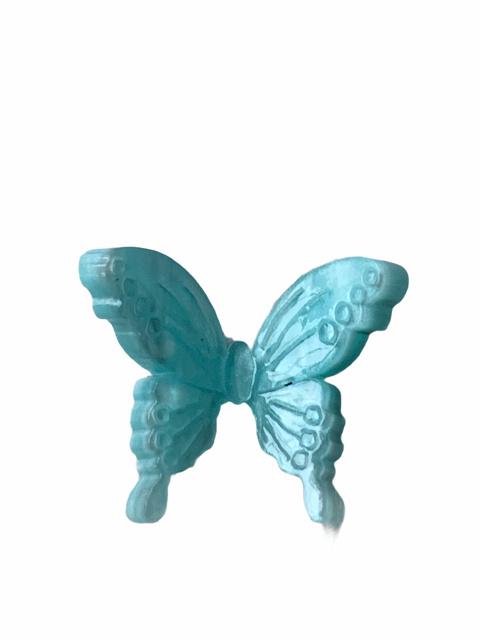 Flatback vlinder pastel blue