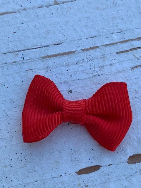 Vlinderstrikje rood 3cm