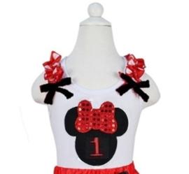 Minnie Mouse T-shirt 1 t/m 6 jaar