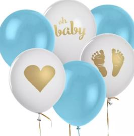 Ballonnen, geboorte jongen