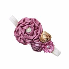 Haarband  vintage paars