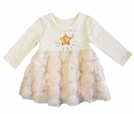 Born To Be A Star glitter champagne longsleeve