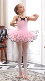 Balletpak roze met zwart