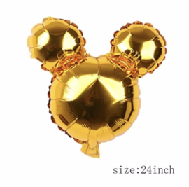 Mickey Mouse folie ballon goud