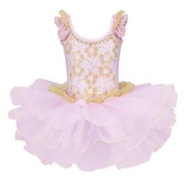 Balletpak roze met goud
