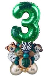 Ballonnenset WILD 3 jaar, 35 delig