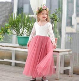 Romantisch jurk Charlotte tearose
