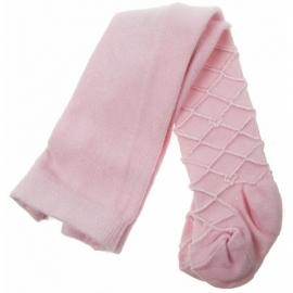 Maillot roze ruit met hartjes