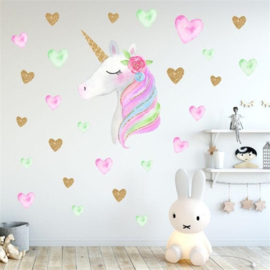 Unicorn Muurstickers
