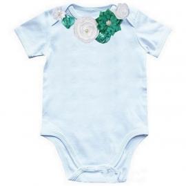 Baby shirt lucite green