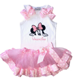 Minnie Mouse set + naam