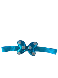 Minnie Mouse haarband blauw