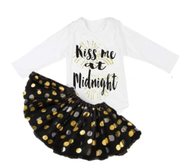 Kiss me at Midnight + haarband (3-delig)