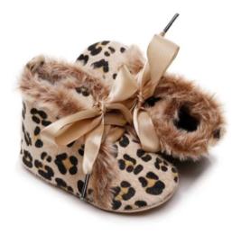 Babyschoen luipaard