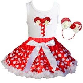 Minnie Mouse set 1 jaar