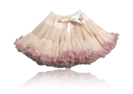 LUXE Pettiskirt  Cream/ Dusty pink