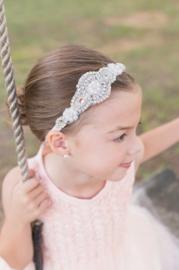 Haarband wit model 4