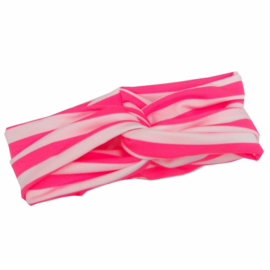 Knoop tulband pink