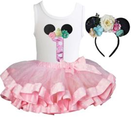 Minnie Mouse verjaardagset 1 t/m 6 jaar