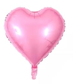 Folie Ballon hart van roze