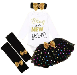 Babyjurk Bling in the New Year  (4-delig)