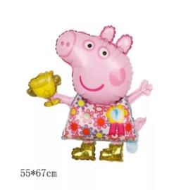 Peppa Pig bloemen jurkje