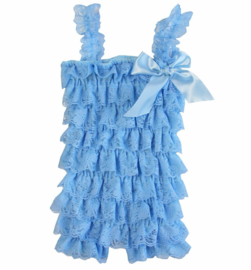 Baby Jumpsuit kant Lucht Blauw