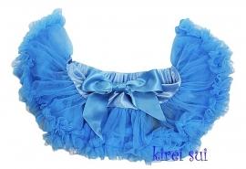 Pettiskirt Korenbloem blauw