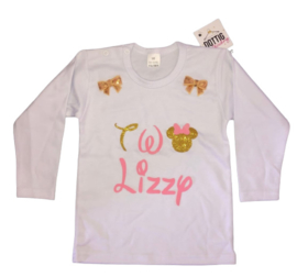 Minnie Mouse shirt Two + NAAM (2-delig)