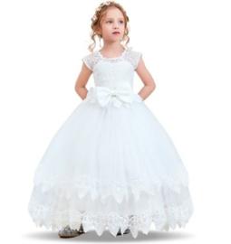 Romantische jurk wit