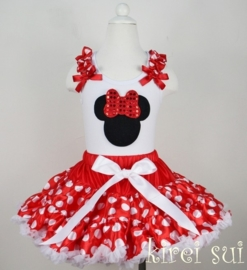 Minnie Mouse rood top