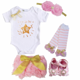 Born To Be A Star set roze (5-delig)