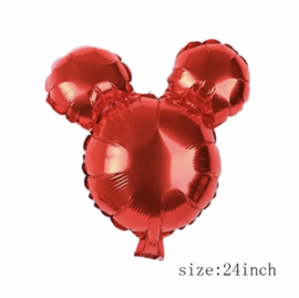 Mickey Mouse folie ballon rood