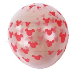 Minnie Mouse Ballon PINK - 5 stuks