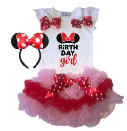 Minnie Mouse Birthday Girl (3-delig)