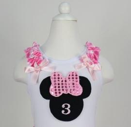 Minnie Mouse T-shirt 1 t/m 3 jaar