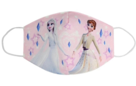 Mondkapje Frozen roze