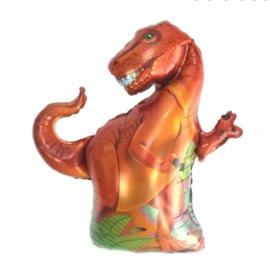 Folieballon Dino, rood