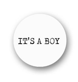 Sluitsticker It's a boy